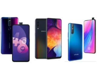 Oppo F11 Pro vs Vivo V15 Pro vs Samsung Galaxy A50: Price, Specifications Compared