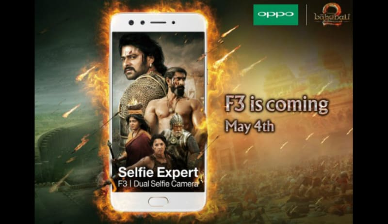 Oppo F3 With Dual Selfie Camera to Launch in India on May 4