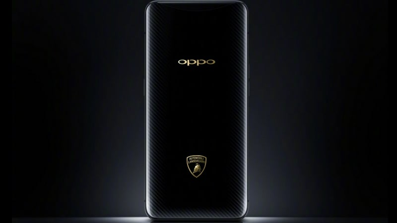 Oppo Find X Automobili Lamborghini Edition With Super VOOC Flash Charge, 512GB Storage Launched: Price, Specifications