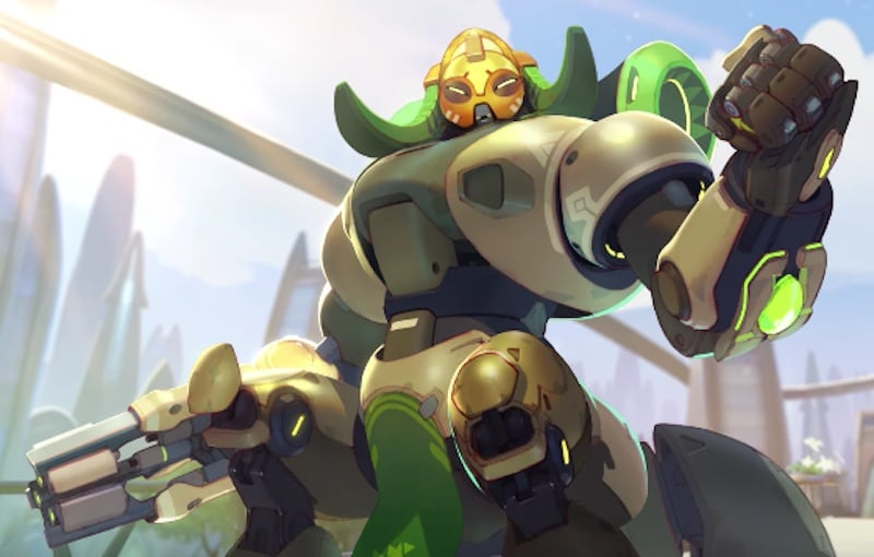 Orisa Is Overwatch's New Hero