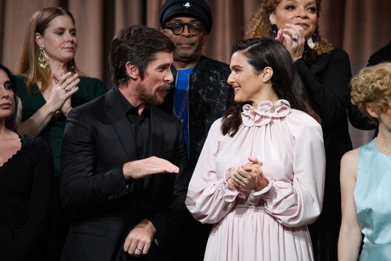 oscars 2019 bale weisz Oscars 2019