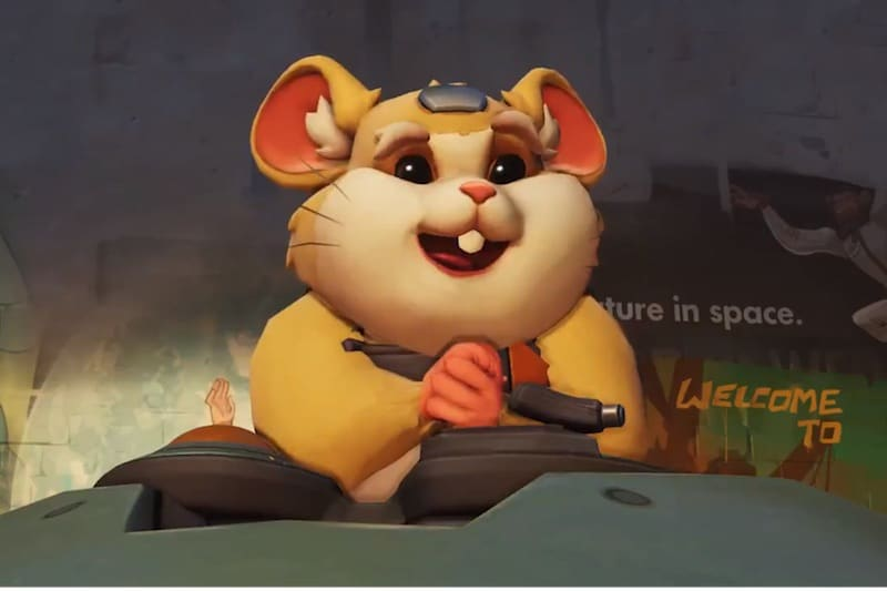 Overwatch's 28th Hero Is Hammond, a Hamster In a Mech Called Wrecking Ball