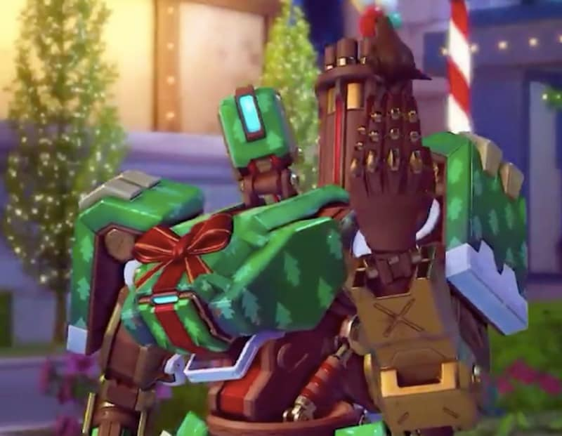 Christmas Skins.Overwatch Winter Wonderland 2018 Skins Revealed Technology