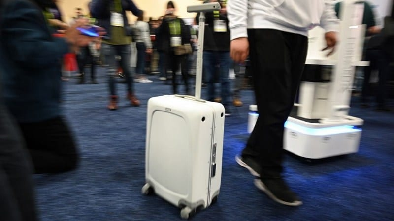 CES 2019: Craziest and Coolest Gadgets Include Self-Rolling Suitcases and Roll-Up TVs