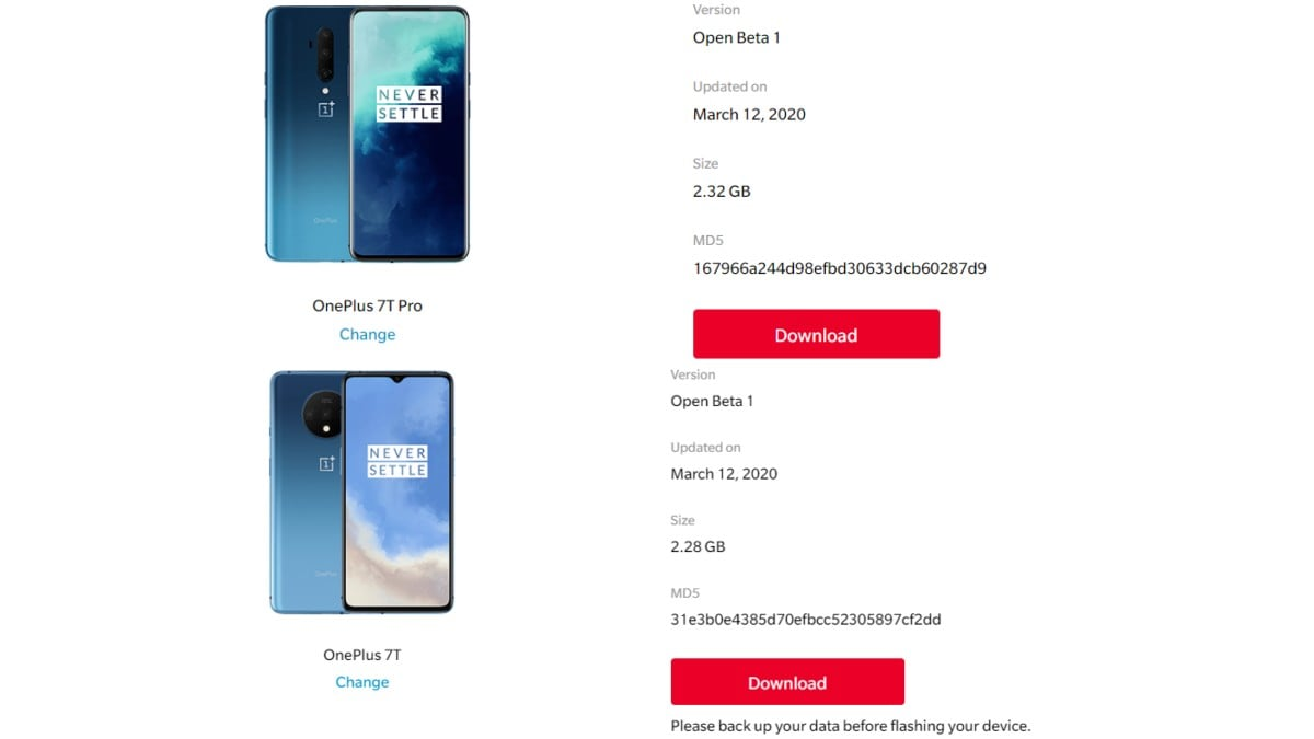 OnePlus 7T Pro, OnePlus 7T Get First OxygenOS Open Beta Update With Live Caption, February Patch