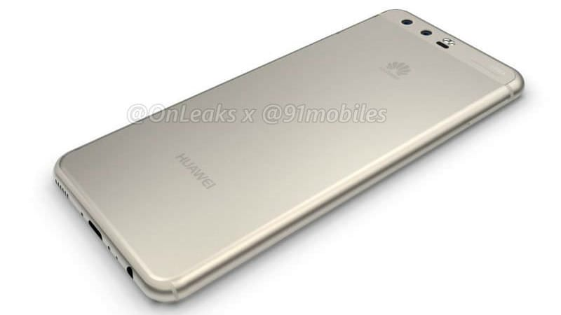 Huawei P10 Renders Leaked; Specifications Spotted on Benchmark Site