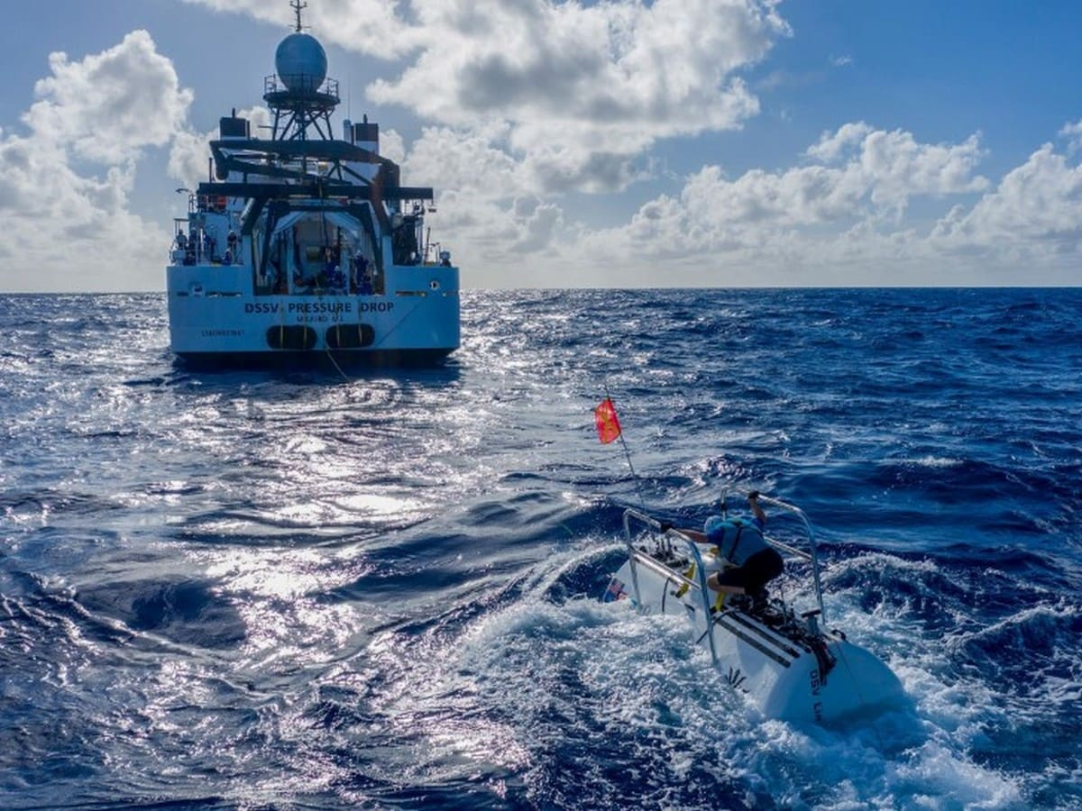 Deepest Ever Submarine Dive Finds Trash Littering the Ocean Floor