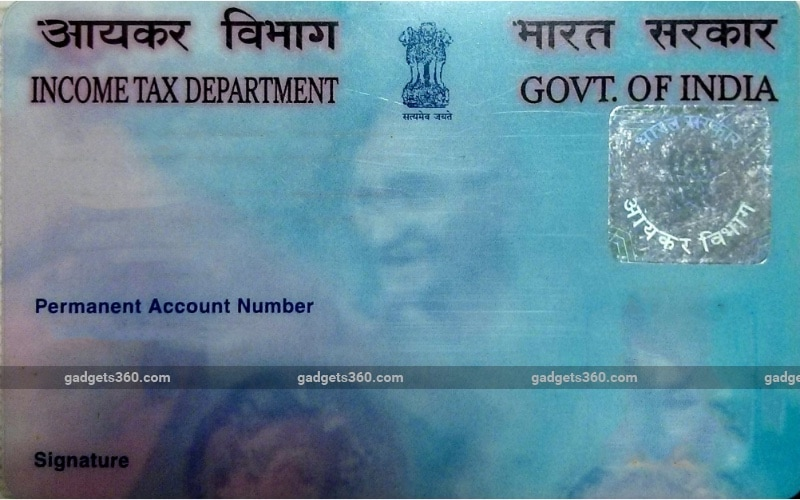 How to Apply for PAN Card Online | NDTV Gadgets360 com