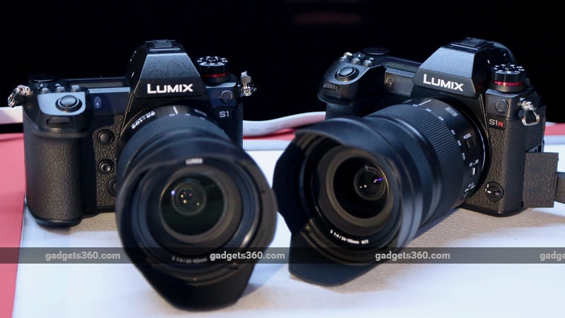 Panasonic Lumix S1, Lumix S1R Full Frame Mirrorless Cameras Launched in India