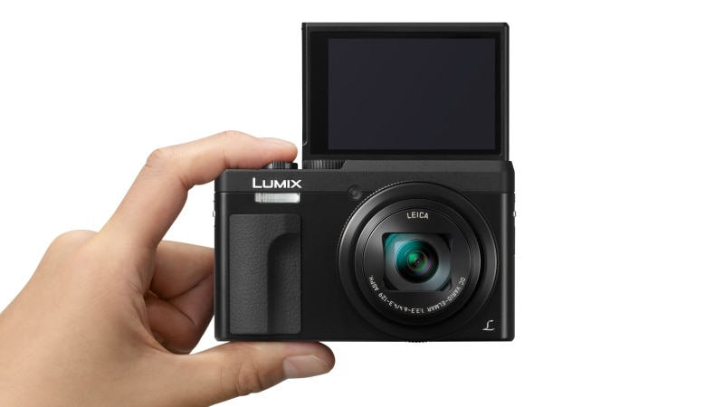 Panasonic Lumix TZ90 With 30x Optical Zoom, Tiltable Display for Selfies Launched