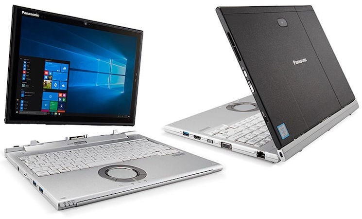 Panasonic Toughbook Cf Xz6 2 In 1 Hybrid Laptop Launched