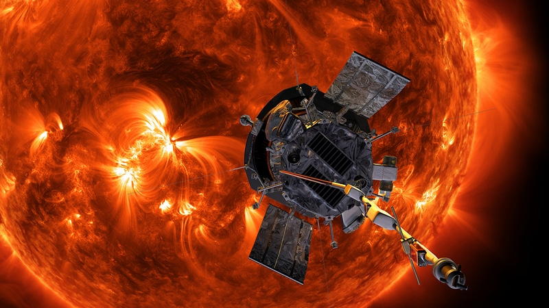 NASA's Parker spacecraft makes 1st close approach to sun