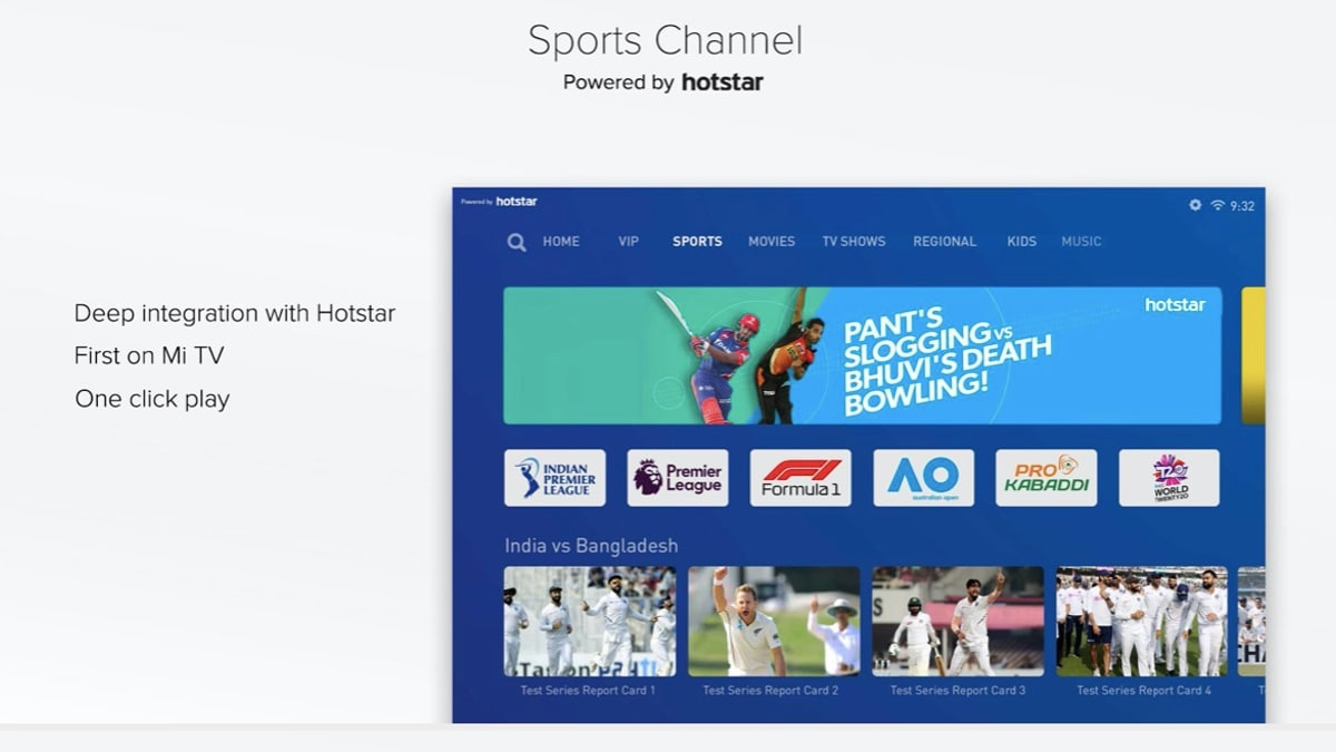 patchwall 3 sports channel new PatchWall 3.0  Xiaomi