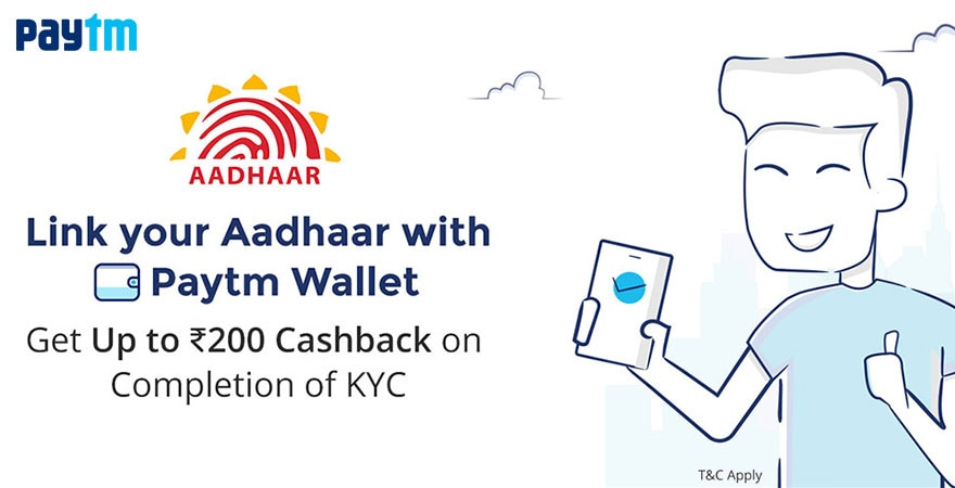 How To Link Aadhaar Card To Paytm : Complete Your KYC With