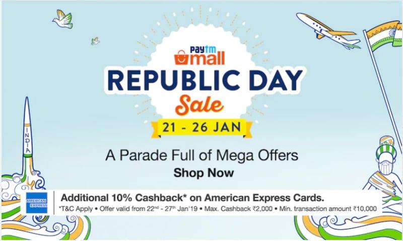 Paytm Republic Day Sale: Samsung Galaxy Note 9, iPhone X और Pixel 3 पर मिल रहा है कैशबैक