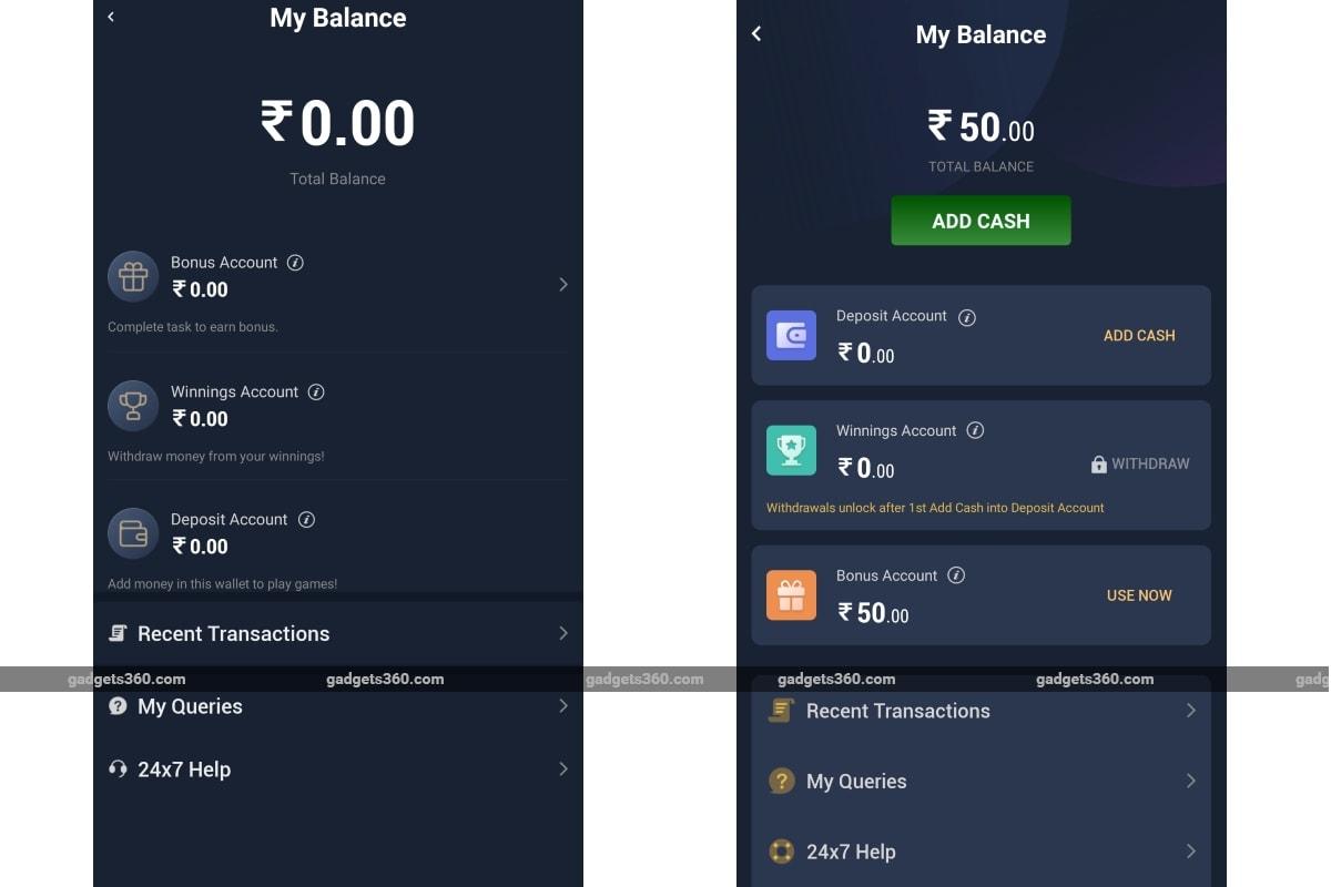 paytm first games app screenshots gadgets 360 Paytm First Games