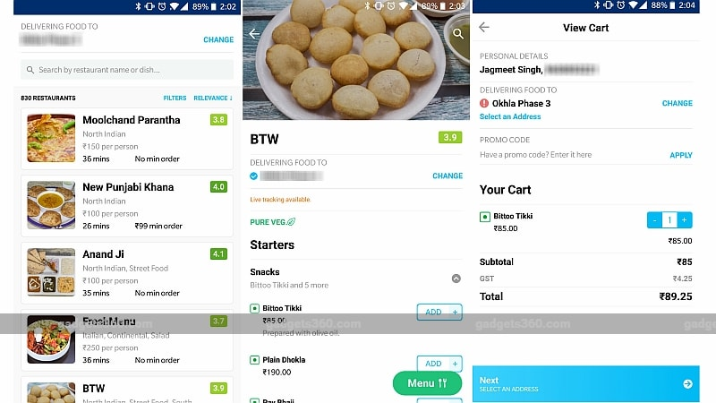 paytm food ordering service gadgets 360 Paytm
