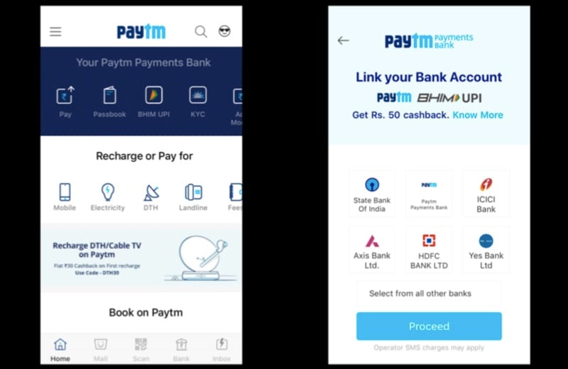 Paytm Launches BHIM UPI on iOS, Starts Offering Physical Debit Cards for Paytm Payments Bank