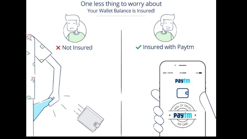 Paytm Wallet Insurance Introduced for Money Loss Due to Phone Theft or Fraud Transactions