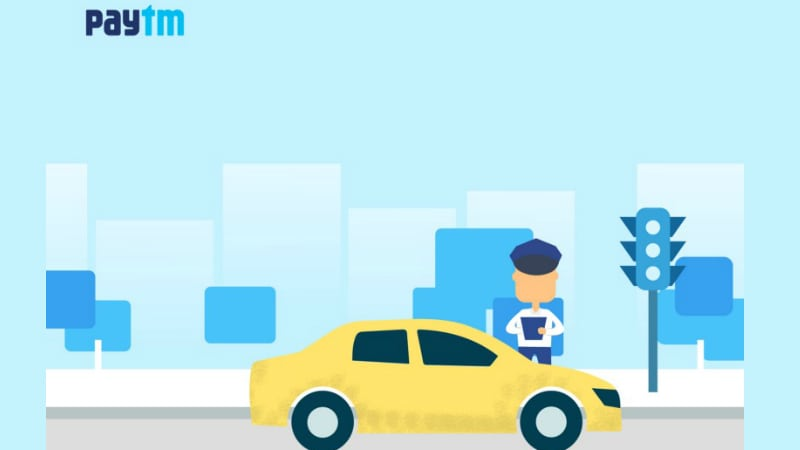 Paytm Now Lets You Pay Traffic Challans Online