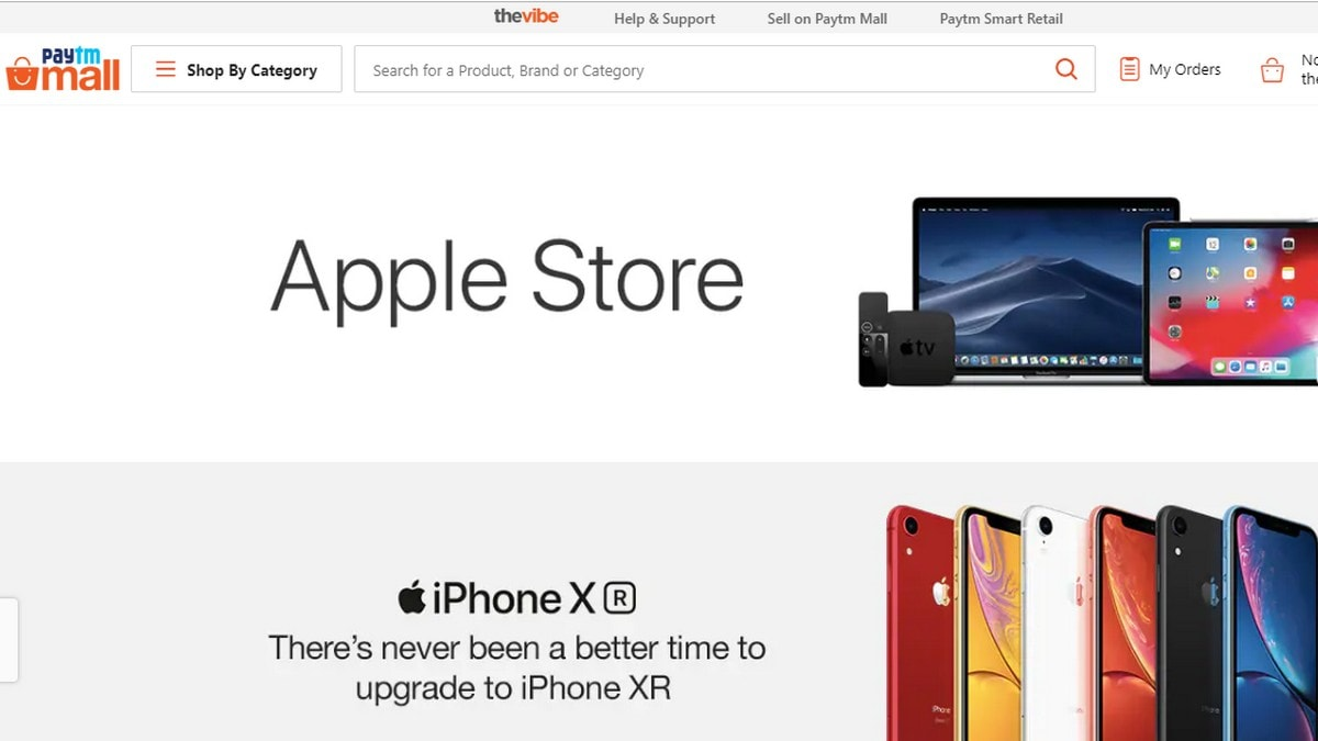 Paytm Mall Becomes an Apple Authorised Online Retailer in India
