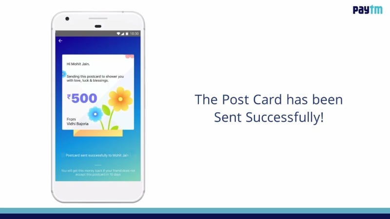 Paytm Now Lets You Automatically Add Money to Your Wallet, Send Postcards