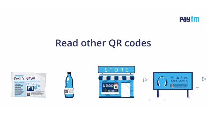 Paytm Now Allows Users to Scan Third-Party QR Codes Within
