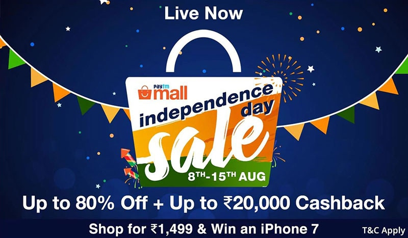 Paytm Mall Sale, Xiaomi Mi 5X India Launch Date, OnePlus 5's New Skin, and More: Your 360 Daily