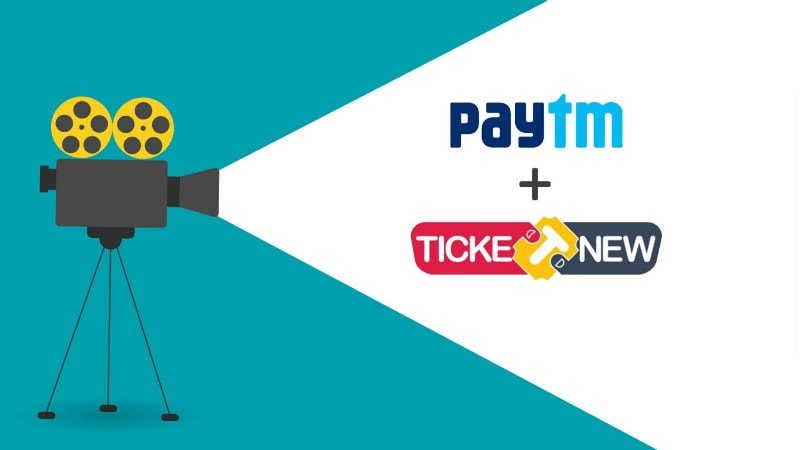 Paytm Acquires TicketNew, an Online Ticketing Platform Focused on South India