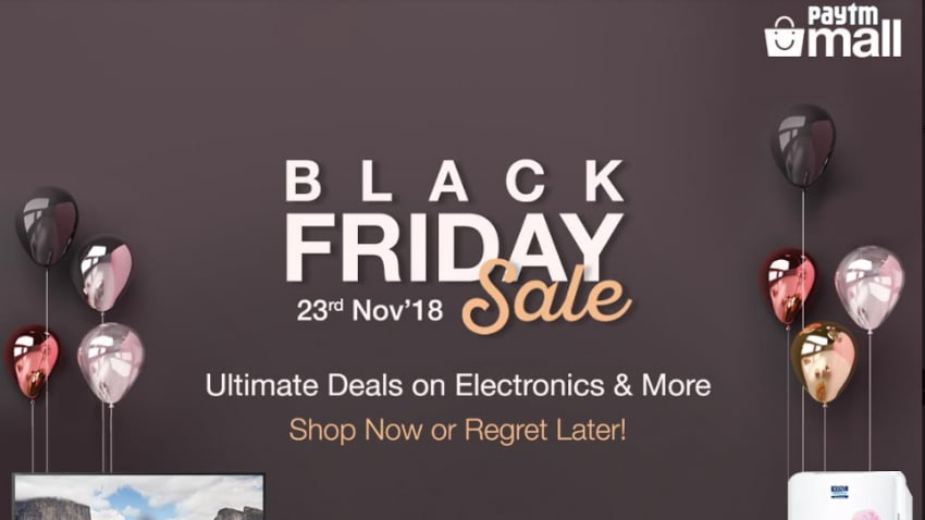 Black Friday Sale 2018: Paytm Mall Offers Discount and Cashback Deals on Google Pixel 3, iPhone X, More