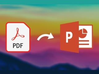 PDF to PPT: How to Convert for Free on Computer, Phone