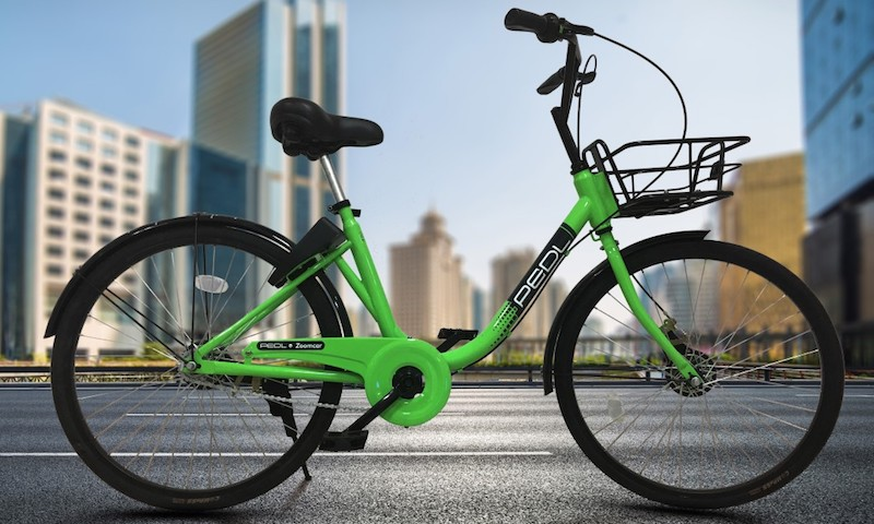 Zoomcar Officially Enters the Bicycle Lane With Pedl