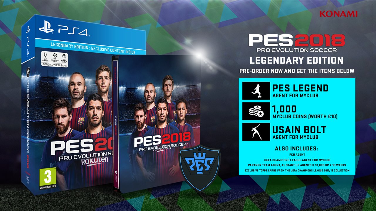 PES 2018 Beta Release Date and Time, Platforms, Game Modes