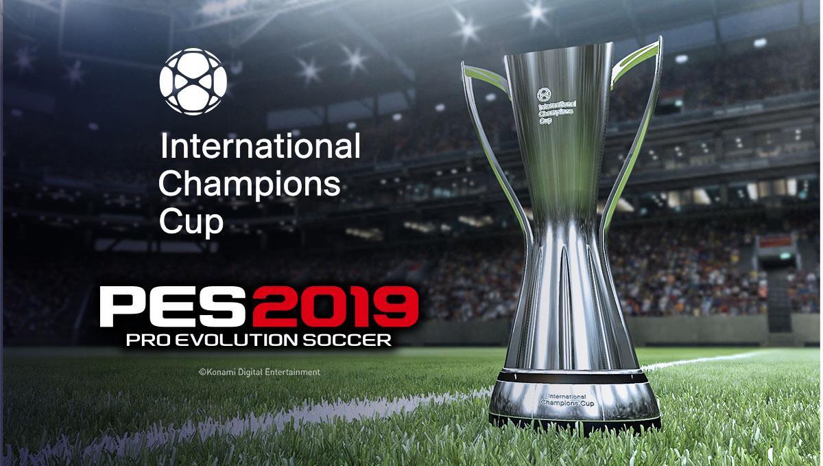 pes2019 icc trophy PES 2019