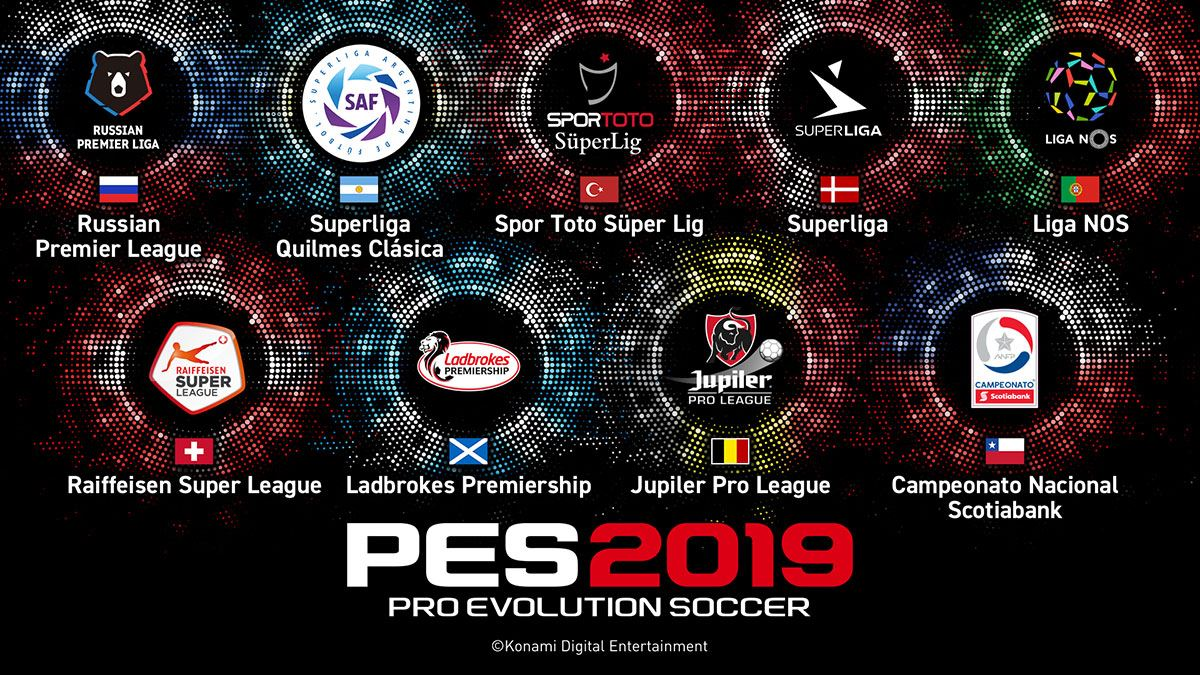 pes2019 new league PES 2019