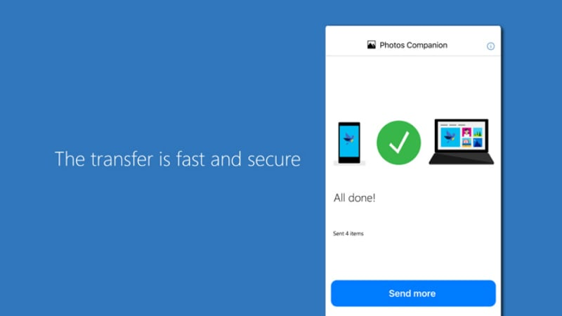 Microsoft Photos Companion App for Android, iOS Lets You Transfer Images Easily to a Windows 10 PC