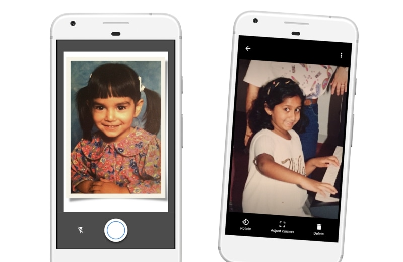 Photoscan by Google Turns Your Phone Into a Photo Scanner