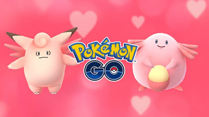 Pokemon Go Hosts Valentine's Day Event With Pink Pokemon, More Candy