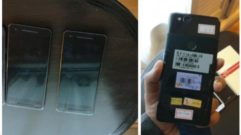 Google Pixel 2 Live Photos Leak, Show Off Stereo Speakers and Wide Bezels