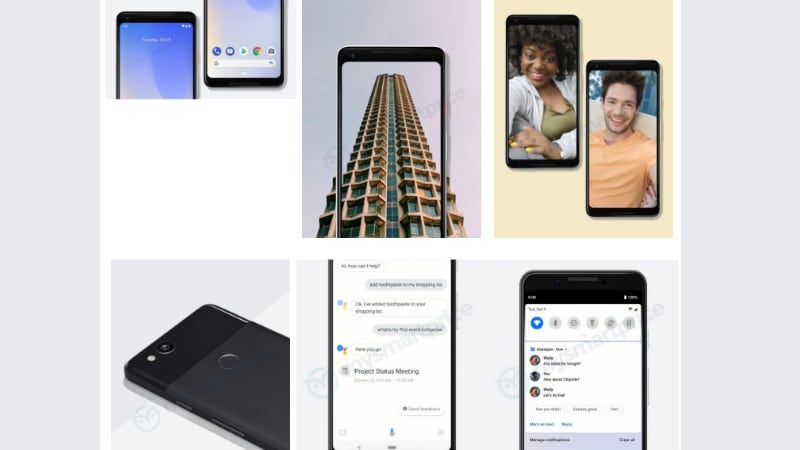 Google Pixel 3 XL Compared With Pixel 2 XL in Hands-On Video, Pixel 3 Appears in Marketing Images