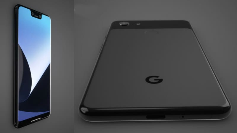 Google Pixel 3, Pixel 3 XL High-Resolution Renders Mockups ...