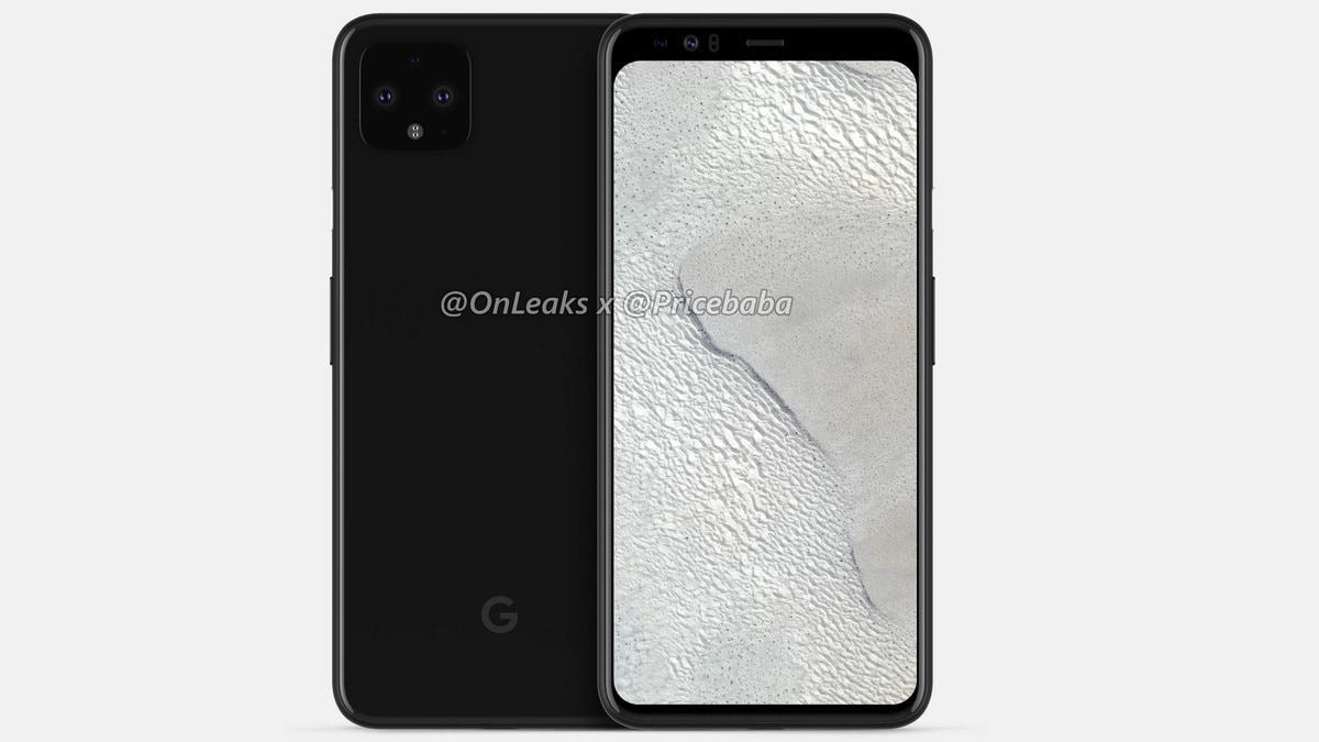 Google Pixel 4 XL Leak-Based Renders Show Large Bezels
