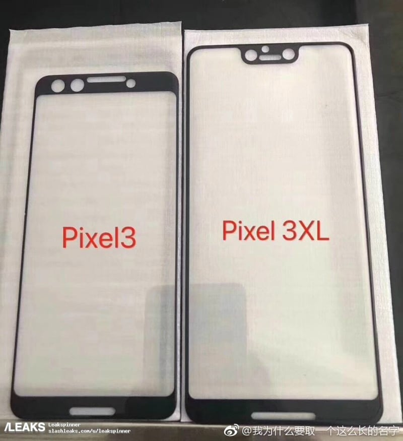 pixel 3 slashleaks inline Pixel 3 Screen Protector