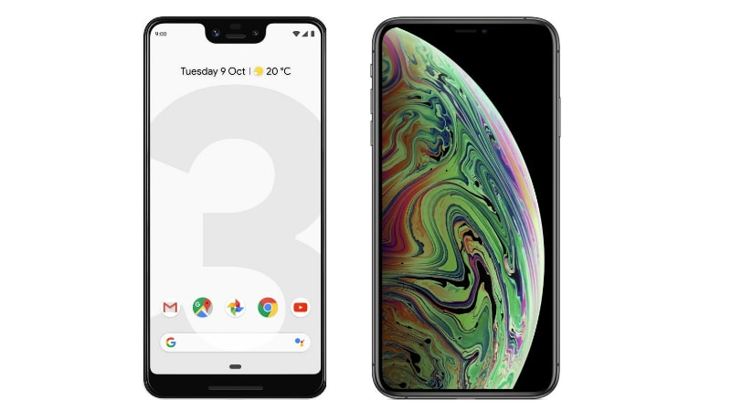 iPhone XS Max Seen to Destroy Google Pixel 3 XL in Speed Test