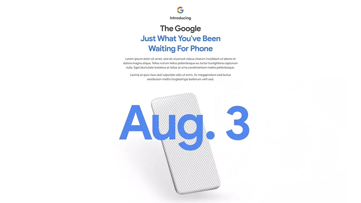 Google Pixel 4a Launching Today: Expected Price, Specifications, More