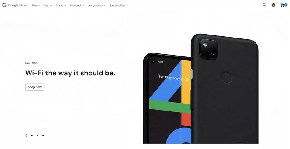 Google Pixel 4a Render Briefly Listed on Official Company Store: Report