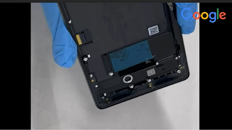Google Pixel 6 Assembly Video Leaks Ahead of October 19 Launch, Shows 4,614mAh Battery