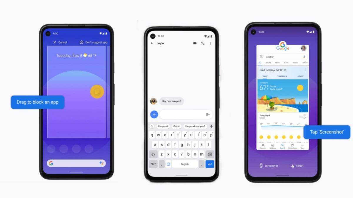 pixel android 11 update pIXEL