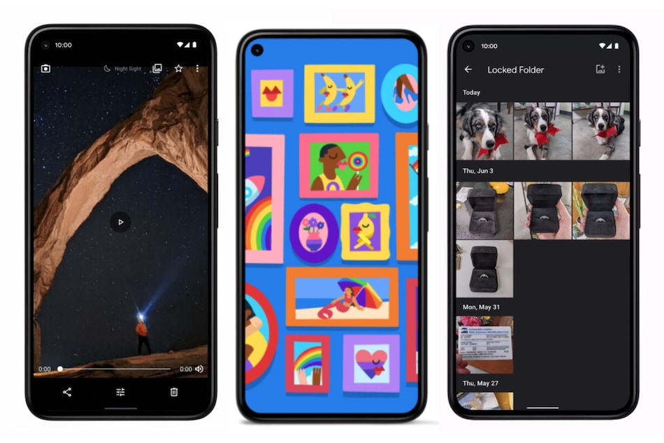 Pixel June 2021 Feature Drop Brings Astrophotography in Night Sight, Locked Folder in Google Photos, More