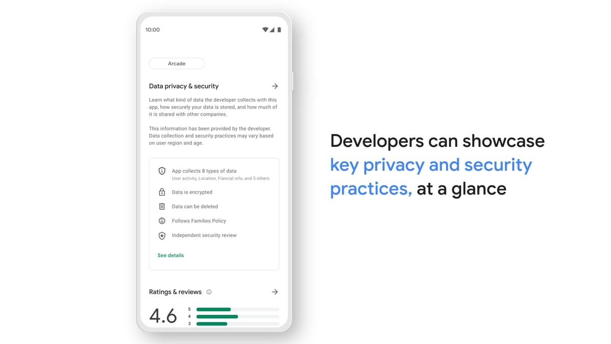 Google Shows How Its Play Store Safety Section Will Look Like